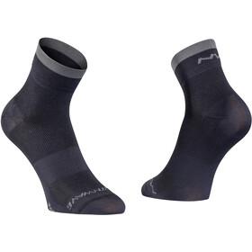 Northwave Origin Calcetines Corte Alto, black/dark grey